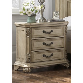 Liberty Antique Ivory 3-drawer Nightstand