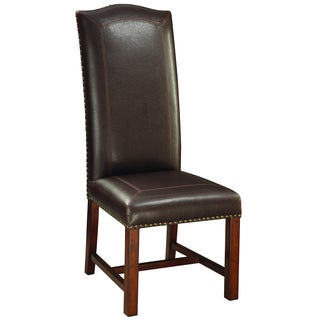 Christopher Knight Home Coyner Brown Cherry Accent Chair (Set of 2)