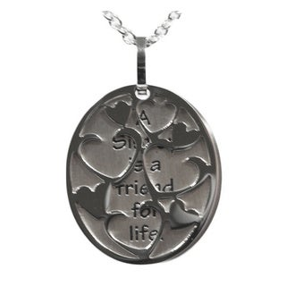 A Sister is a Friend for Life' Necklace