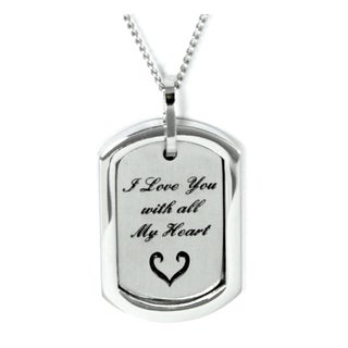 I Love You With All My Heart Necklace