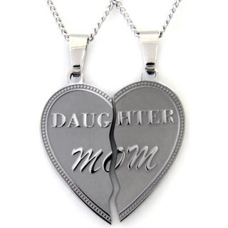 Daughter Mom' 2-piece Stainless Steel Pendant https://ak1.ostkcdn.com/images/products/9620535/P16805376.jpg?_ostk_perf_=percv&impolicy=medium