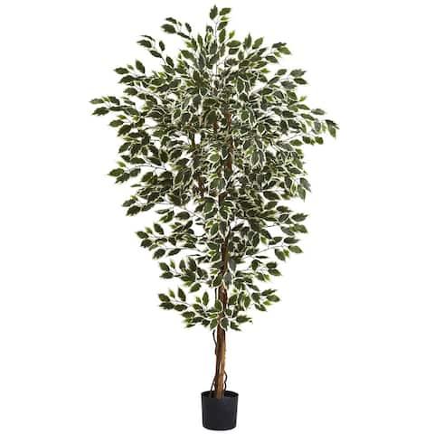 Nearly Natural Hawaiian Ficus Tree