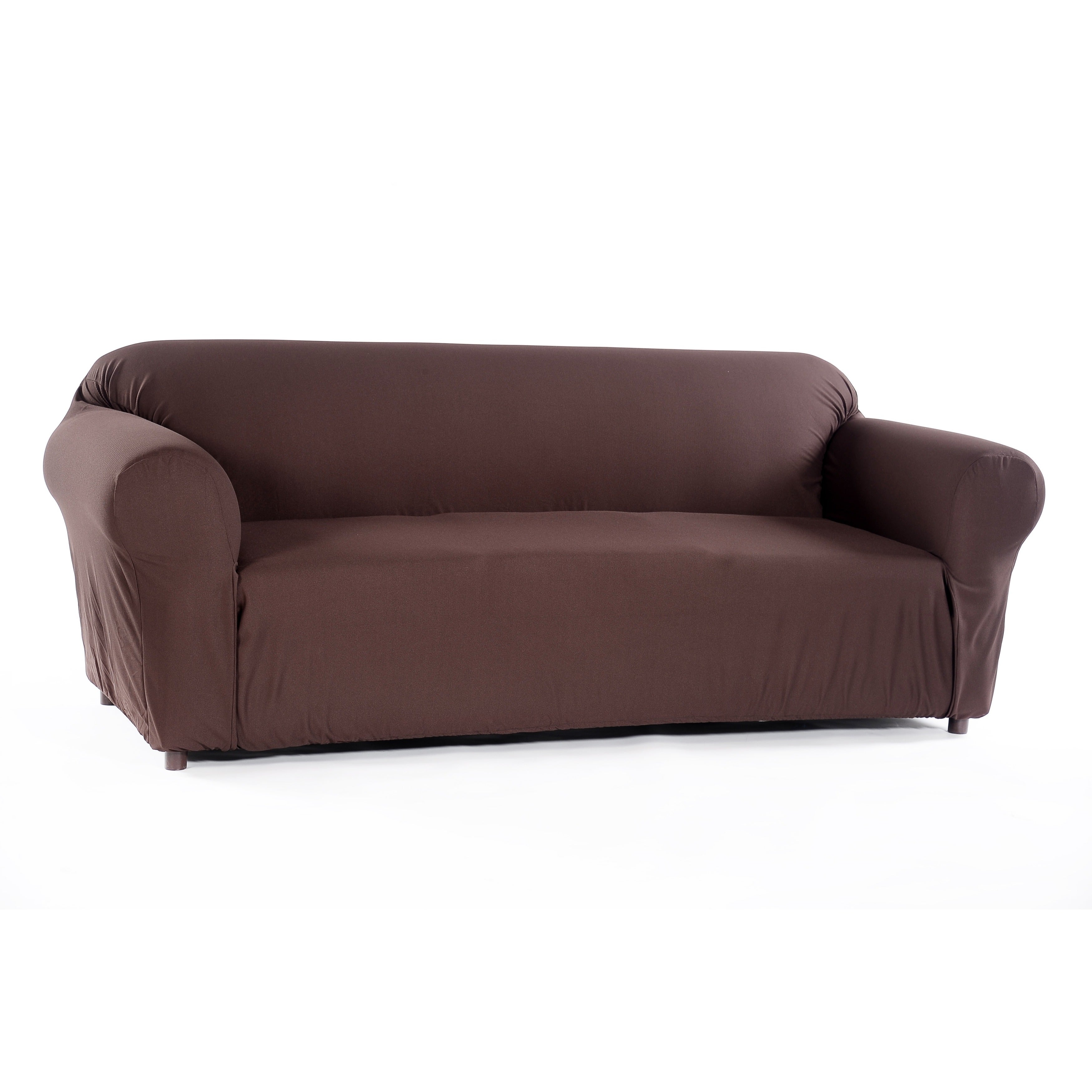 Excellent Stretch Waffle Sofa Slipcover Gmtry Best Dining Table And Chair Ideas Images Gmtryco