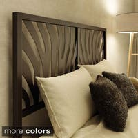 Clay Alder Home Kane Zebra Queen Size 60-inch Metal Headboard