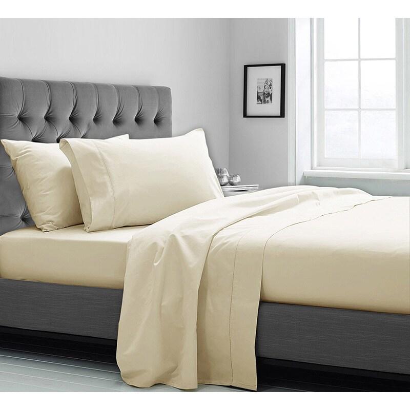 Supima Cotton 600 Thread Count Sheet Set (Queen - Sage), ...