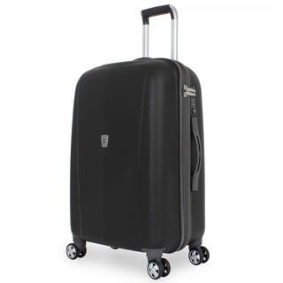 SwissGear 24-inch Hardside Medium Spinner Upright Suitcase