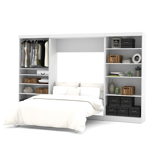 Shop Pur By Bestar 131 Inch Full Wall Bed Kit Free