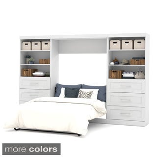 "Pur by Bestar 131"" Full Wall Bed Kit"