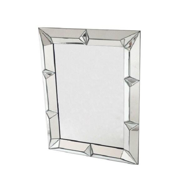 Glass Square Wall Mirror