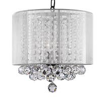 Gallery 40mm Crystal Balls Chandelier and Shade