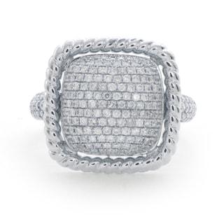 14k White Gold 3/4ct TDW Diamond Ring