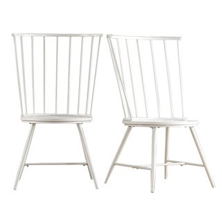 Truman High Back Windsor Classic Dining Chair by MID-CENTURY LIVING (Set of 2)