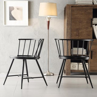 Truman Low Back Windsor Classic Dining Chair by MID-CENTURY LIVING (Set of 2)