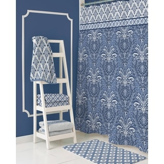 Dena Home Madison Navy Shower Curtain