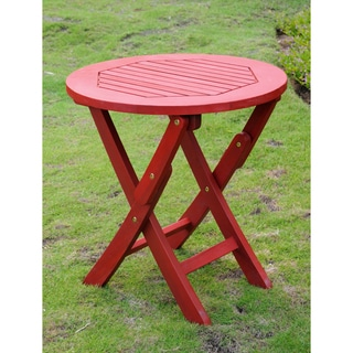 International Caravan Royal Fiji 19-inch Folding Patio Side Table