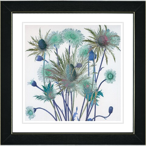 Studio Works Modern 'Highland Spring Flowers' Framed Fine Art Print