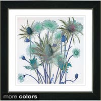 Studio Works Modern 'Highland Spring Flowers' Framed Fine Art Print
