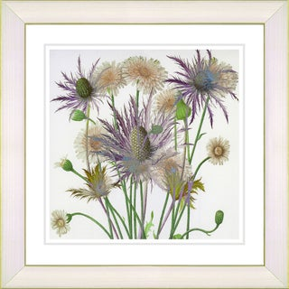 Studio Works Modern 'Highland Spring Flowers' Framed Fine Art Print (More options available)