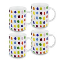 Konitz Splash of Color Mugs (Set of 4)