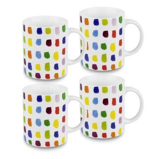 Konitz Splash of Color Mugs (Set of 4)