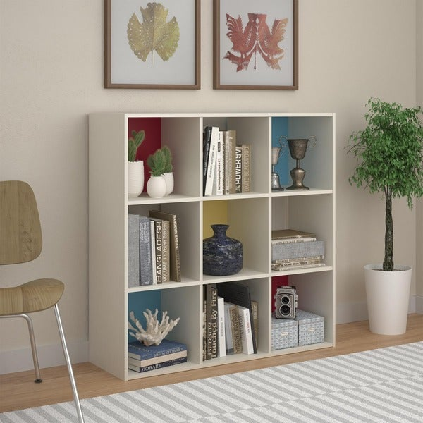 storage bookcases ikea shelving cube bookcase kallax square bookshelves unit