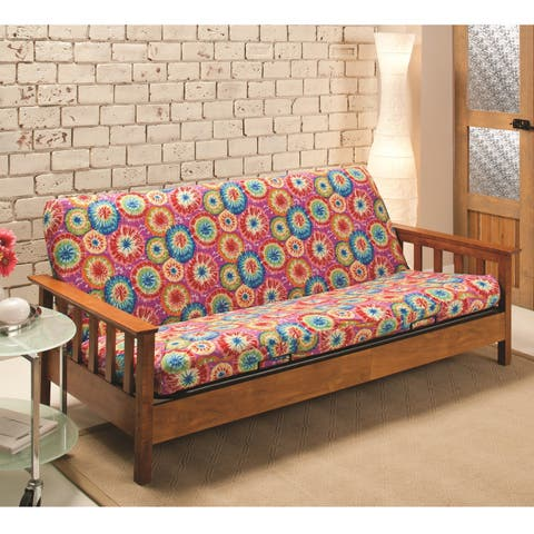 Sanctuary Stretch Jersey Tie-Dye Futon Slipcover