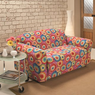 Sanctuary Stretch Jersey Tie-dye Loveseat Slipcover