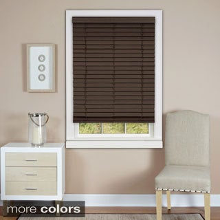 Achim Cordless Madera Falsa 2-inch Faux Wood Plantation Blind