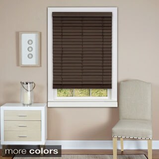 Achim Cordless Madera Falsa Faux Wood 2-inch Plantation Blind (More options available)