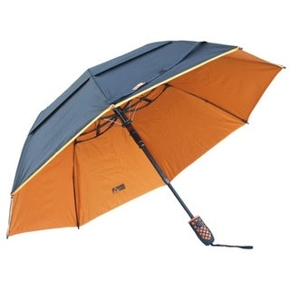 Black Aspen Solo Nylon 46-inch Wind-resistant Umbrella
