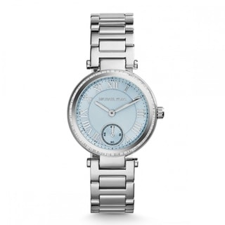 Michael Kors Women's MK5988 Skylar Stainless Steel Round Blue Dial Watch