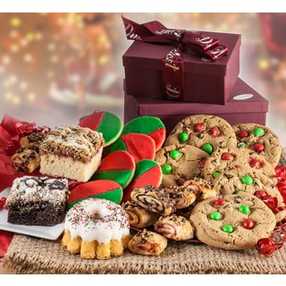 Dulcets Christmas Holiday Deluxe Gift Basket