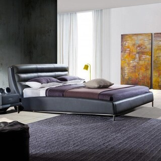 Contemporary Sleek Queen Bed