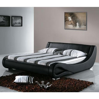 Modern Curved Bed