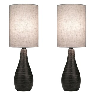 Lite Source Two Pack Quatro 1-light Large Table Lamp (2 options available)