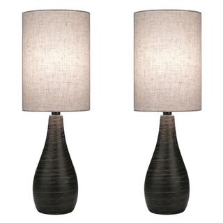 Lite Source Two Pack Quatro 1-light Large Table Lamp