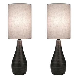 Lite Source Two Pack Quatro 1-light Large Table Lamp