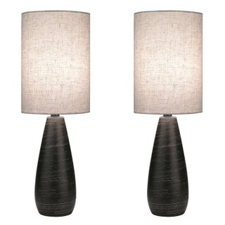 Lite Source Two Pack Quatro 1-light Small Table Lamp (2 options available)