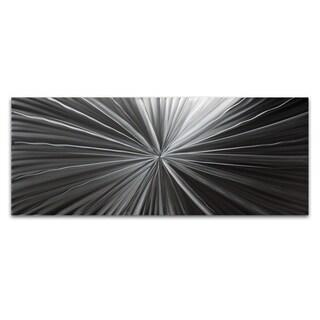 NAY 'Tantalum Composition' Modern Metal Wall Art Print