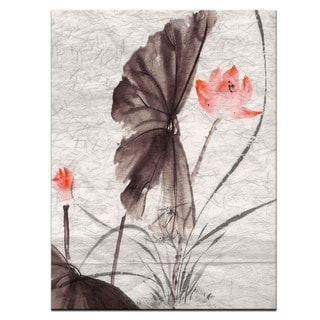 Ready2HangArt 'Painted Petals XI' Canvas Wall Art