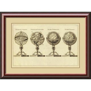 Jean Lattre 'Spheres at Globes, 1791' Framed Art Print 40 x 29-inch