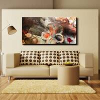 Ready2HangArt 'Painted Petals XV' Canvas Wall Art