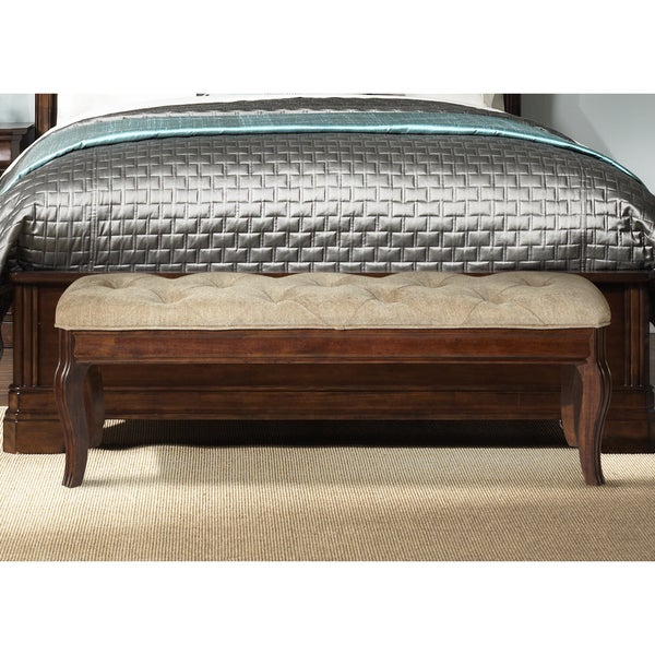 Autumn Brown RTA Bed Bench