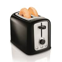 Hamilton Beach Black Cool Touch 2-Slice Toaster