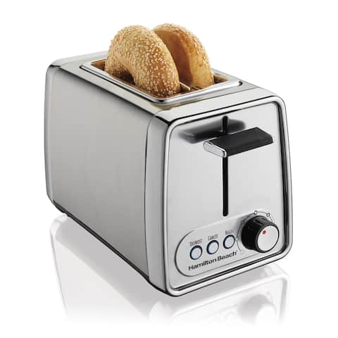 Hamilton Beach Chrome Cool Touch 2-slice Toaster - Stainless Steel