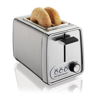 Hamilton Beach Cool Touch Chrome Stainless Stel 2-slice Toaster