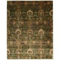 Nourison Recylced Sari Silk Multicolor Rug - 9'9 x 13'9