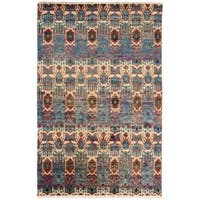 Nourison Sari Silk Abstract Multicolor Rug - 9'9 x 13'9