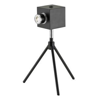 Click Matte Black Metal 1-light LED Desk Lamp