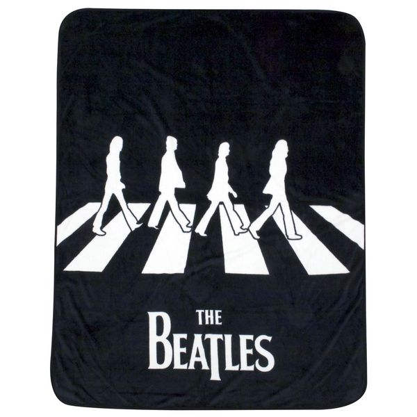 Beatles Abbey Road Throw and Pillow Set